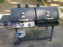 Char-Griller Duo Black Dual-Function Combo Grill in Byron, Georgia