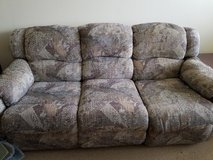 Double reclining couch in Joliet, Illinois