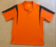 GRAND SLAM GOLF Mens Sz M Orange/Black Shirt in Orland Park, Illinois