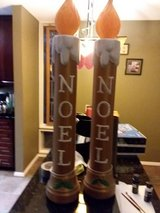 Blow molds gold candles in Schaumburg, Illinois
