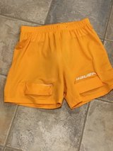 Bauer Hockey shorts with cup in Orland Park, Illinois
