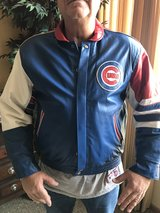 Chicago Cubs Leather Large Jacket in Schaumburg, Illinois