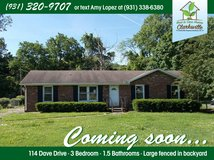 Coming Soon! Rent to Own property?—? 114 Dave Dr Clarksville, TN in Fort Campbell, Kentucky