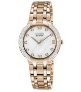 New  Ladies Citizen-Women Eco-Drive-Bella-Diamond-Accented-Watch in Lockport, Illinois