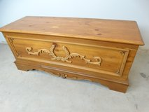 Long Wooden Chest in League City, Texas