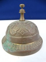 Vintage Brass Bell in League City, Texas