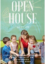 Preschool OPEN HOUSE Thur. April 19th 4-6 pm in Fort Lewis, Washington