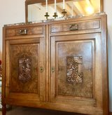 Walnut Burl French Sideboard Buffet, Credenza, Mini Bar, Server or Console Table in Ramstein, Germany