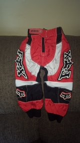 fox racing 180 riding pants toddler 2/3 in Yorkville, Illinois