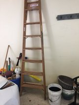 Werner 8 Foot Wood Ladder in Plainfield, Illinois