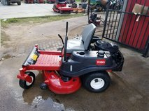 "ZERO TURNER TORO 50"" 30 Days Warranty in Pasadena, Texas"