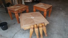 Coffee Table and 2 End Tables in Plainfield, Illinois