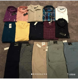Brand New Van Huesan Men Tops & Bottoms in Tinley Park, Illinois