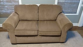 Love seat couch. Tan like new. I have 2 available. in Naperville, Illinois