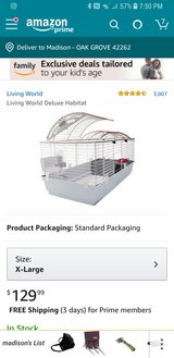 hedgehog& deluxe cage in Fort Campbell, Kentucky