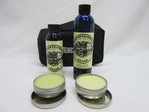 New Mountaineer Brand Complete Beard Care Kit. Wash, oil, balm. in Lockport, Illinois