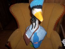 Mailman Geese Goose Outfit Crochet Lawn Goose Clothes in Belleville, Illinois