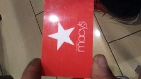 $100.00 Macys gift card in 29 Palms, California