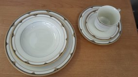 """MIKASA """"GOLDEN SHELL"""" 5 piece place setting in Chicago, Illinois"""