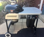 Weber Charcoal Grill Cart in Oswego, Illinois