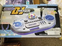 SCRATCH DJ MIXER  With micro phone and disco ball new in Alamogordo, New Mexico