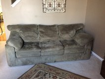 couch, matching chair and ottoman in Naperville, Illinois