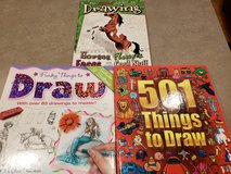 Learning to Draw Books in Joliet, Illinois