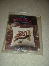 Crewel Embroidery Owl Pillow Kit (new) in Baytown, Texas