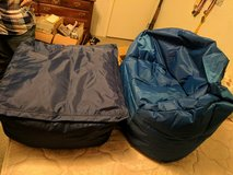 Bean Bag Chair & Ottoman in Fort Polk, Louisiana