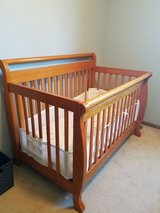 Crib (mattress, mattress pad and breathable bumper pad) in Oswego, Illinois
