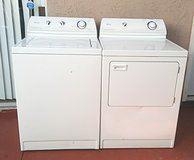 Maytag washer and electric dryer set in Camp Pendleton, California