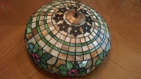 Stained Glass Old hanging lamp 19 inch Tiffany Style in Elgin, Illinois