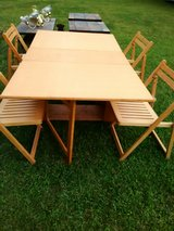 table with chairs in Fairfield, California