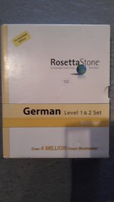 Rosetta Stone German language - Reserved in Stuttgart, GE