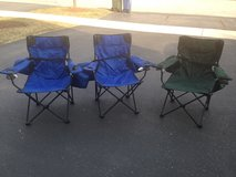 Folding chairs and carry bags in Oswego, Illinois