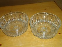 """8""""pressed glass serving bowls in Glendale Heights, Illinois"""