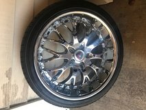 """20"""" Merceli Tires and Tims in Tinley Park, Illinois"""