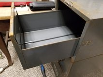 1) Vintage MCM Steelmaster Gray stackable File card cabinet drawer in Chicago, Illinois