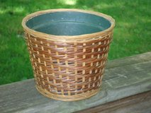 wicker planter in Lockport, Illinois