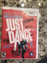 Wii video game Just Dance in Algonquin, Illinois