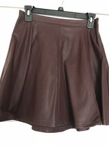 Faux leather skirt in Algonquin, Illinois