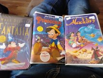Sealed Disney Vhs Tapes in Alamogordo, New Mexico