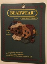 Bear wear pin in Warner Robins, Georgia