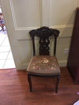 Antique chair in Conroe, Texas