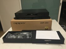 Am selling my  Used OPPO UDP-203 4k Blu-Ray player in Naperville, Illinois