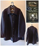 Big & Tall MENS Wool Peacoat in Fairfield, California