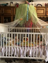 baby crib with all bedding,mattress,toys, in Ramstein, Germany