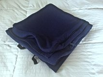 Navy Blue Standard Size Sleeping Bag Insert with Zipper in Okinawa, Japan