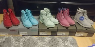 BRAND NEW WOMENS & JUNIORS TIMBERLANDS in Fairfield, California