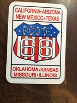 Route 66 magnet in Kingwood, Texas